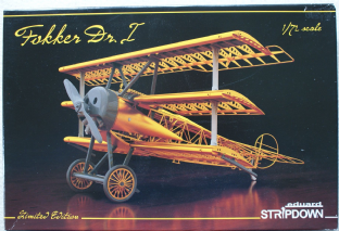 Eduard 1/72 2114 Fokker Dr.I Stripdown